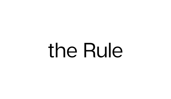The Rule (transparent) ()