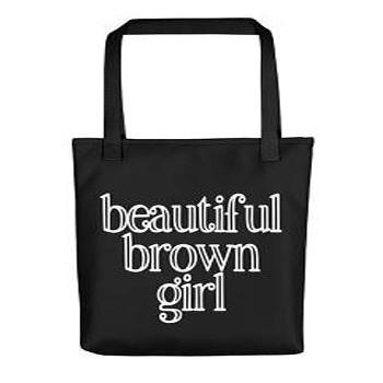 BlackOwnedBusiness BROWNGILRSELFCARECO Beautifulbrowngirlltote