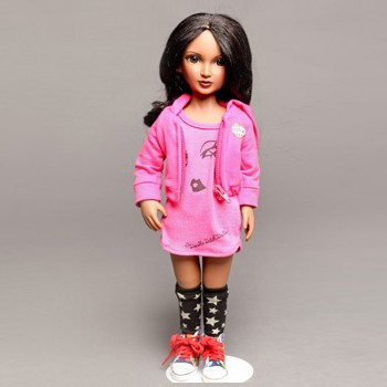 "BlackOwnedBusiness DOUBLE DUTCH DOLLS ""African American Fashion Doll Kaila Bradley FINAL SALE"