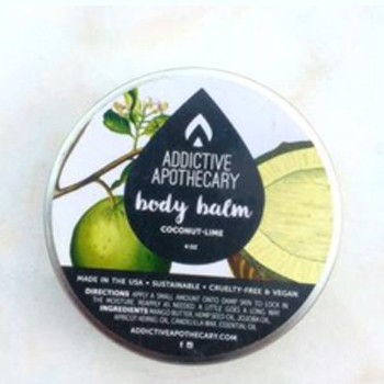 BlackOwnedBusiness ADDICTIVE APOTHECARY Coconut Lime Body Balm