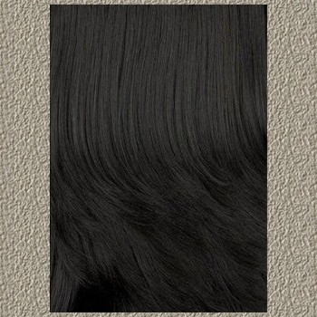 BlackOwnedBusiness AFRICAN AMERICAN WIGS QE.Ginny Medium Length Wavy Synthetic Half Wig