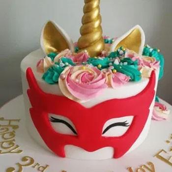 BlackOwnedBusiness Plumb And Rabbitts Bespoke Birthday Cake