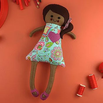 BlackOwnedBusiness Thimble _ Doll Layla Lovelie Doll