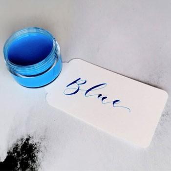 BlackOwnedBusiness Studio Oudizo Blue Calligraphy Ink