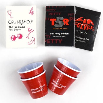 BlackOwnedBusiness Cards For All People Girls Night Party Pack